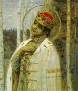 «Царевич Дмитрий». М. В. Нестеров, 1899 год