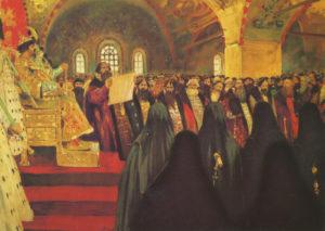 С. В. Иванов. «Земский собор». 1908