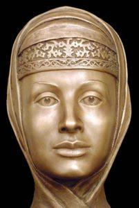 Скульптурная реконструкция по черепу С. А. Никитина