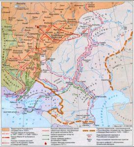 Южное направление политики Ивана IV Грозного