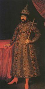 И.Г. Ведекинд. Портрет первого царя из рода Романовых - Михаила Федоровича