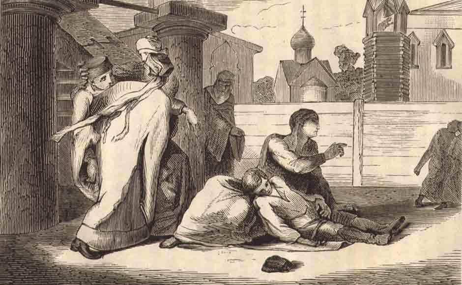 Масса И. Убийство царевича Дмитрия в Угличе