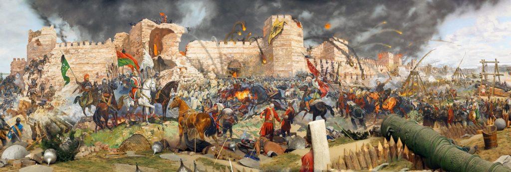 Штурм Константинополя. Стамбул. Панорама «1453 год»