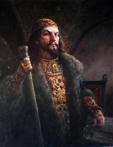 28 - Царь Иван. худ.Андрей Шишкин