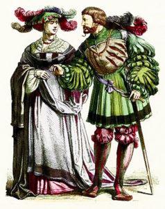 Немецкие дворяне 16 века