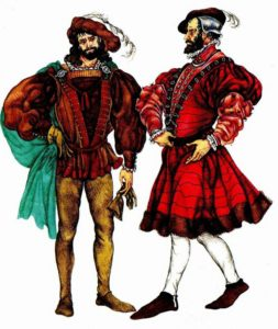 Французские дворяне 16 века