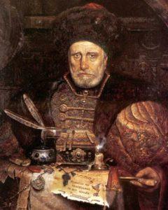«Андрей Курбский» - ближайший приближённый Ивана Грозного худ. Павел Рыженко