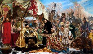 Знаменитая картина Яна Матейко — «Стефан Баторий под Псковом» (1872)